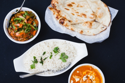 Traditional Indian flavours at Ginger Garlic
