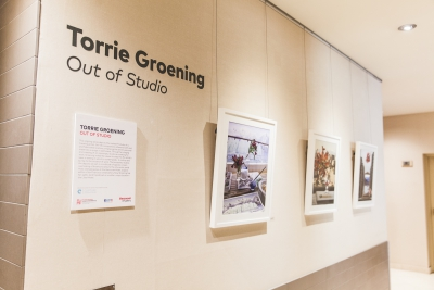"Torrie Groening's ""Out Of Studio"" brings staged still life to the Listel Hotel Vancouver"