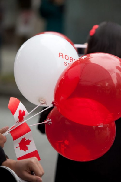 Celebrate CANADA DAY on Robson Street!