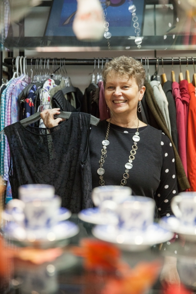Q&A with Clothes and Collectibles Thrift Store Manager Laura Fee
