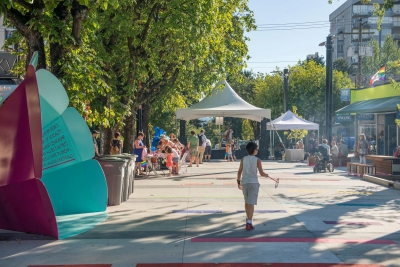 Jim Deva Plaza Vancouver