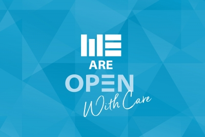 #WEAre Open – With Care