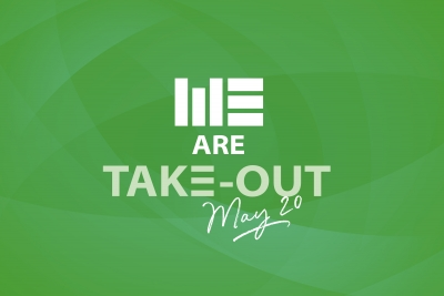 #WEAre Take-Out – Wednesday, May 20th